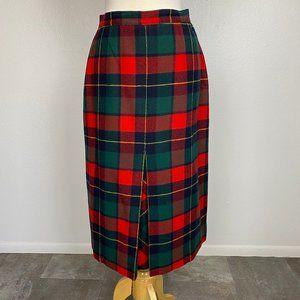 Vintage 1950s Pendleton Wool Midi Skirt